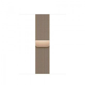 Bracelete para Apple Watch Milanesa em metal 38 a 41 mm - Dourado