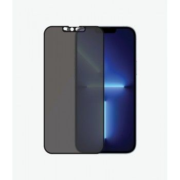 Película PANZERGLASS iPhone 13 Pro Max Camslider Privacy Blk