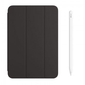 Conjunto de acessórios para iPad mini, composto por Capa e Apple Pencil