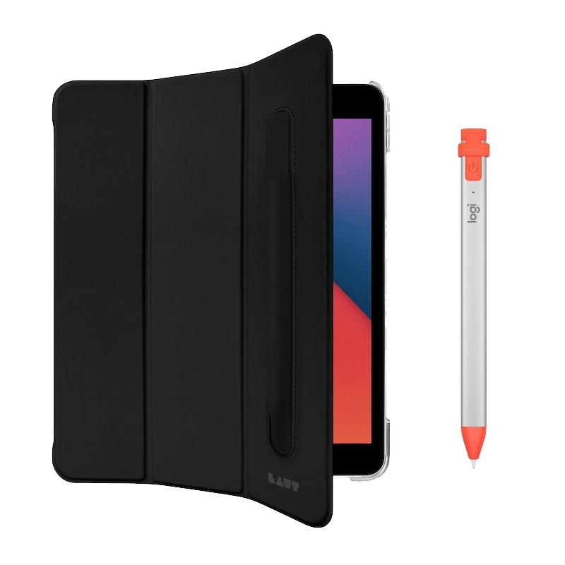 Conjunto de acessórios para iPad 10,2 (2021) composto por capa e pencil Logitech Crayon