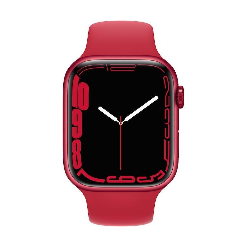 Apple Watch 7, GPS+Cellular 45 mm - Vermelho(PRODUCT)RED, bracelete(PRODUCT)RED